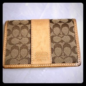 Coach card case (gently used & loved)